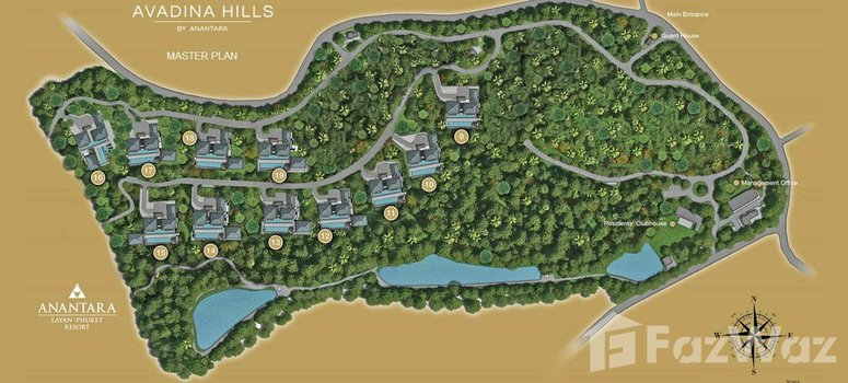 Master Plan of Avadina Hills - Photo 1