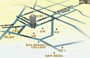 Crown Tower in Sampaloc, Metro Manila