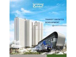 万丹 Serpong Tangerang 1 卧室 住宅 售