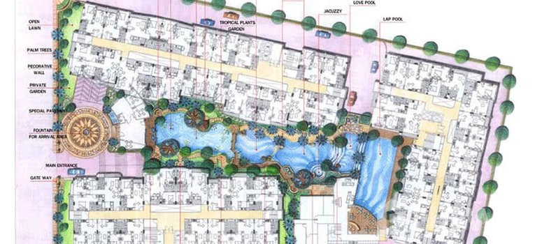 Master Plan of Resorta Yen-Akat - Photo 1