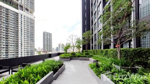 3D Walkthrough of the Communal Garden Area at Knightsbridge Prime Sathorn
