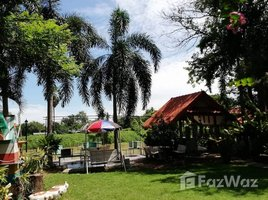 3 Bedrooms House for sale in Pak Nam, Suphan Buri House on Huge Land with Tha Chin River View