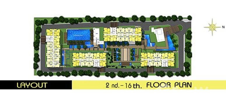 Master Plan of The Room Ratchada-Ladprao - Photo 1