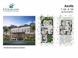 3 Bedrooms Townhouse for sale in Lakarsantri, East Jawa CitraLand Surabaya