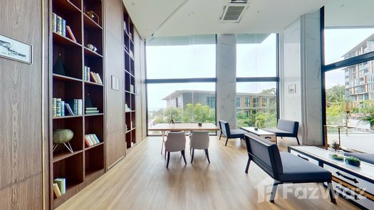 3D Walkthrough of the Library / Reading Room at The Panora Phuket
