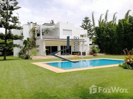 Rabat Sale Zemmour Zaer Na Agdal Riyad Adorable villa à louer sur Souissi 5 卧室 别墅 租