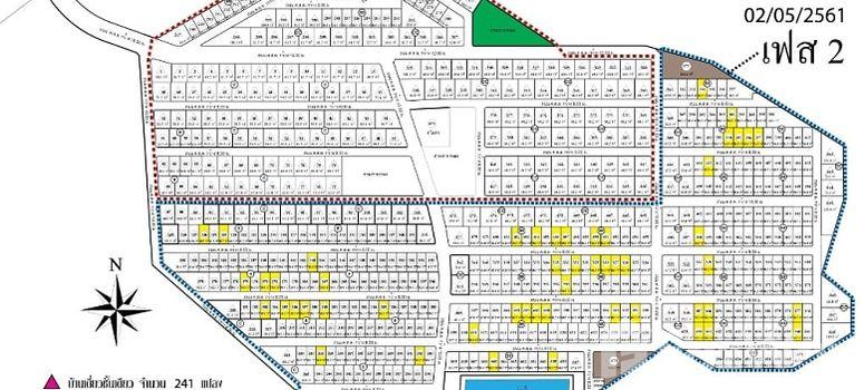 Master Plan of Phuket Villa Chaofah 2 - Photo 1