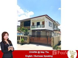 Yangon Kamaryut 4 Bedroom House for sale in Dagon Myothit (North), Yangon 4 卧室 别墅 售