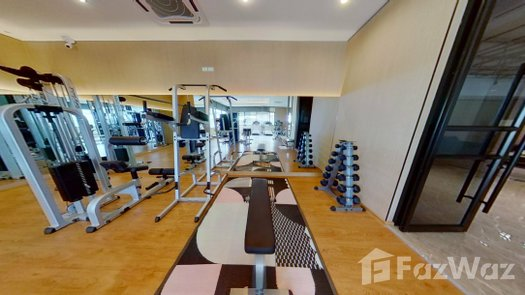 3D Walkthrough of the Communal Gym at CNC Residence