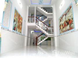 4 Phòng ngủ Nhà mặt tiền bán ở Thới An, TP.Hồ Chí Minh Bán căn nhà thân yêu 4x18m nở hậu 4,17x18m, 1 trệt 1 lửng 2 lầu có sân ô tô. Ngay chợ, khu dân cư