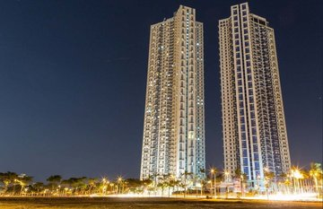 The Trion Towers in Makati City, Metro Manila