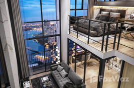 Condo with 1 Bedroom and 1 Bathroom is available for sale in Bangkok, Thailand at the Ideo Charan 70 - Riverview development