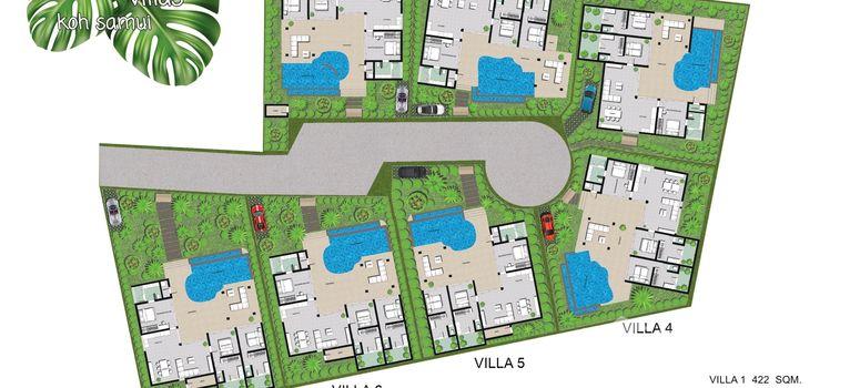 Master Plan of Naturalia Villas - Photo 1