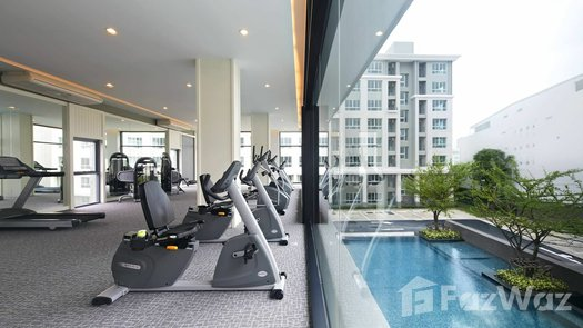 Photos 1 of the Communal Gym at D Condo Sathu Pradit 49