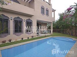 Marrakech Tensift Al Haouz Na Annakhil OPPORTUNITE Villa moderne en vente Palmerais 5 卧室 别墅 售