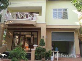 金边 Chak Angrae Leu 4 Bedroom Villa for Rent in Chamkamon 4 卧室 屋 租