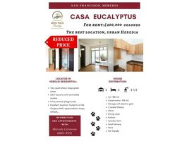 2 Habitaciones Casa en venta en , Heredia Residencial Verolis, San Francisco, Heredia, San Francisco, Heredia