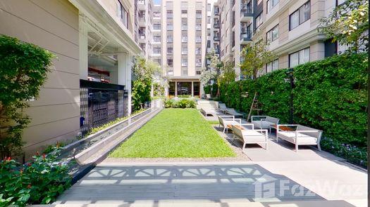 3D Walkthrough of the Communal Garden Area at The Nest Sukhumvit 22