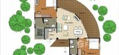 Unit Floor Plans of Pattaya Country Club Home & Residence