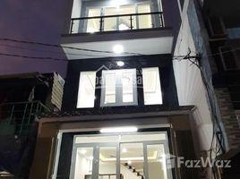 3 Bedrooms House for sale in An Lac, Ho Chi Minh City Bán 4x10m, hướng Nam hẻm 122, Bùi Tư Toàn, nhà mới 100% đúc suốt 4,5 tấm, 4,1 tỷ, C Loan +66 (0) 2 508 8780