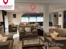 недвижимость, 6 спальни в аренду в Na Agdal Riyad, Rabat Sale Zemmour Zaer Location Villa meublée à Bir Kacem Souissi