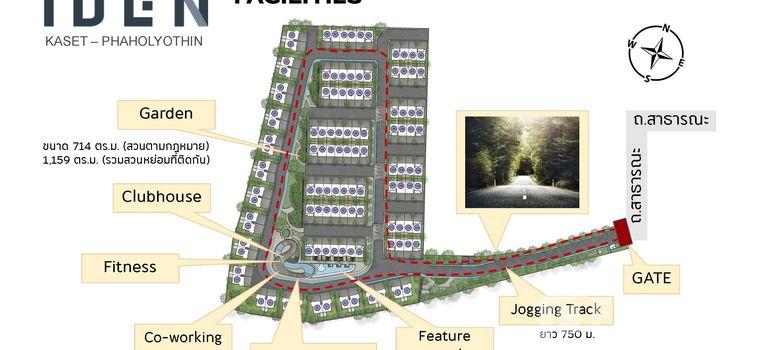 Master Plan of IDEN Kaset - Phaholyothin - Photo 1