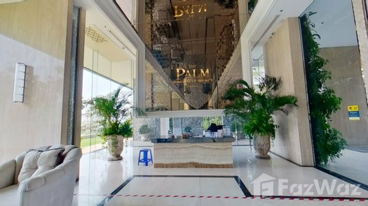 3D Walkthrough of the 前台大堂 at The Palm Wongamat