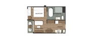 Unit Floor Plans of The Proud Residence