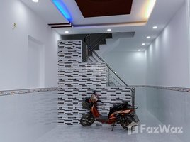 4 Bedrooms House for sale in Ward 16, Ho Chi Minh City BÁN DÃY PHỐ 4 TẤM 3.5X10M, P16 Q8 CÁCH METRO BÌNH PHÚ 2KM GIÁ CHỈ 2.35 TỶ - +66 (0) 2 508 8780