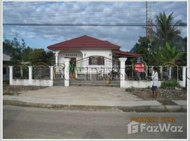 万象 Nice villa near main road for sale in Vangvieng. 3 卧室 屋 售