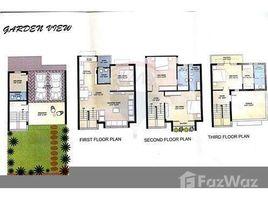 Chotila, गुजरात Garden View Bunglows behind Sola Bhagwat, Ahmedabad, Gujarat में 4 बेडरूम मकान बिक्री के लिए