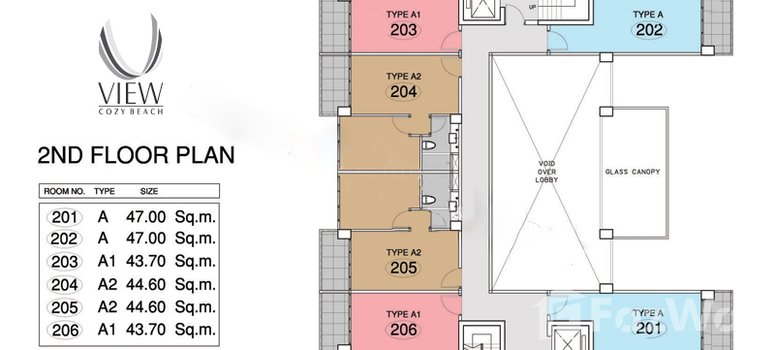 Master Plan of The View Cozy Beach Residence - Photo 1