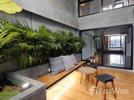 曼谷 Khlong Tan Nuea Loft style Townhouse for Rent in Ekkamai 5 卧室 联排别墅 租