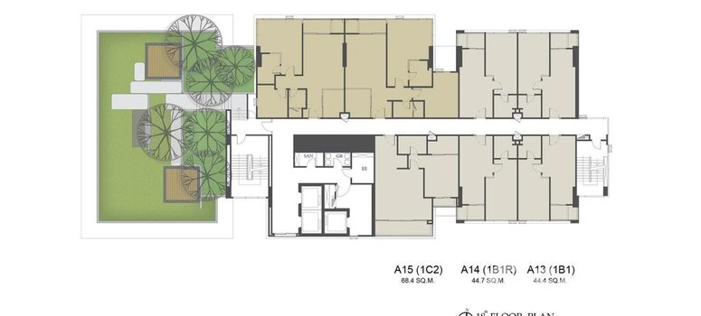 Master Plan of The Room Sukhumvit 38 - Photo 1
