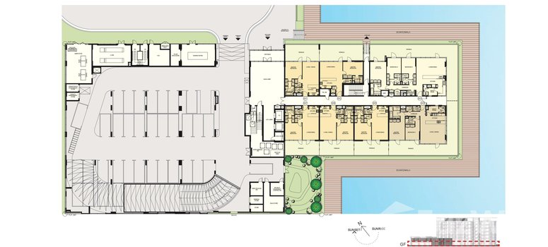 Master Plan of District One Residences (G+6) - Photo 1