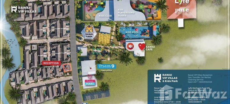 Master Plan of Rawai VIP Villas & Kids Park - Photo 1