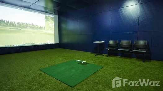 3D Walkthrough of the Golf Simulator at The Residence at 61