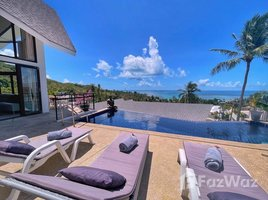 3 Bedrooms Villa for sale in Maret, Koh Samui High Ceiling, Seaview 3-Bed Pool Villa in Lamai