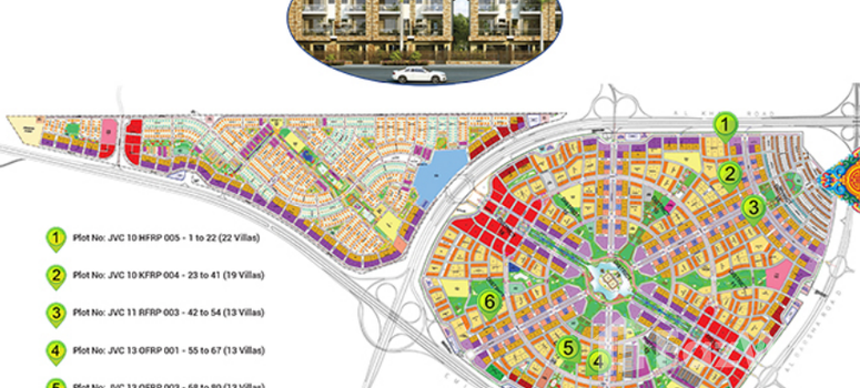 Master Plan of Park Villas - Photo 1