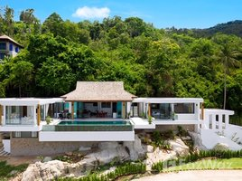 4 Bedrooms Property for sale in Bo Phut, Koh Samui Traditional Style Sea View Villa in Koh Samui