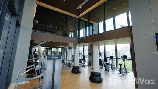 3D Walkthrough of the Communal Gym at BEATNIQ Sukhumvit 32