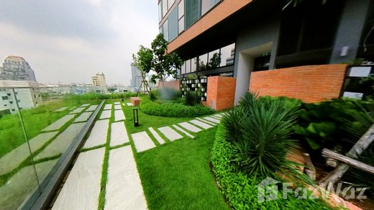3D Walkthrough of the Communal Garden Area at The Lofts Silom