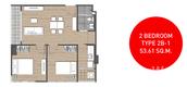 Unit Floor Plans of D'Mura Phahol - Kaset
