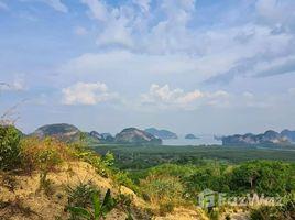 N/A Land for sale in Khlong Khian, Phangnga Land for Sale near Samet Nangshe with 360 Degree View of Phang Nga Bay
