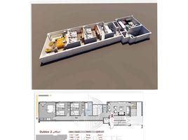 Giza Hadayek October Concrete 3 卧室 顶层公寓 售