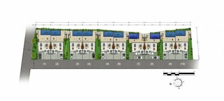 Master Plan of Samui Emerald Villas - Photo 1