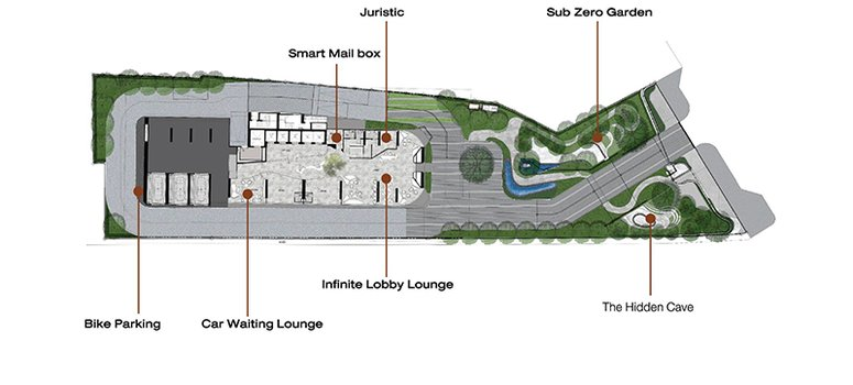 Master Plan of Park Origin Chula Samyan - Photo 1