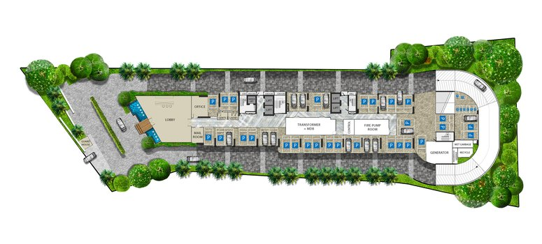 Master Plan of The Riviera Ocean Drive - Photo 1