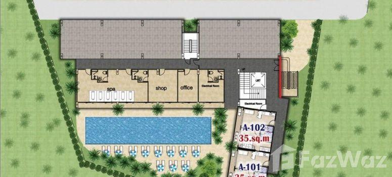 Master Plan of Naiharn Sea Condominium - Photo 1