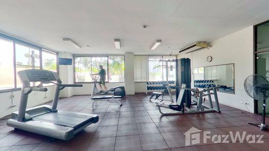 3D Walkthrough of the Gym commun at Ruamsuk Condominium